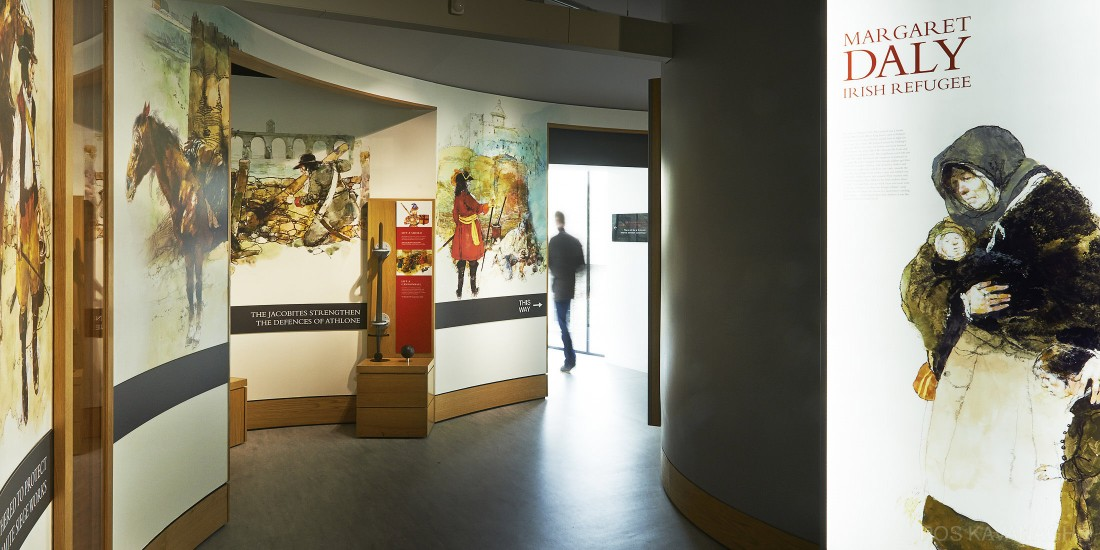 View of visitor experience