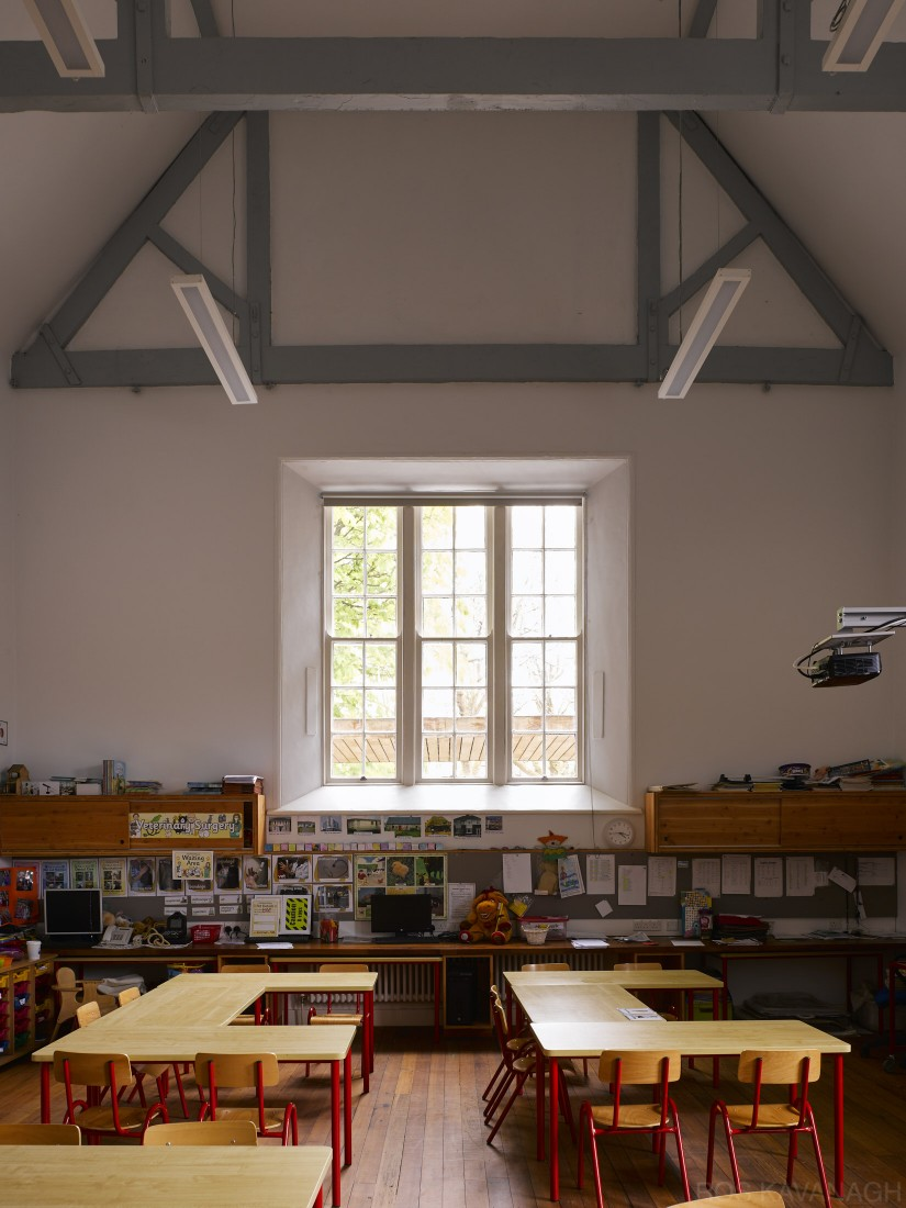 View of classroom