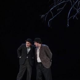 Perfomance image, Vladimir and Estragon