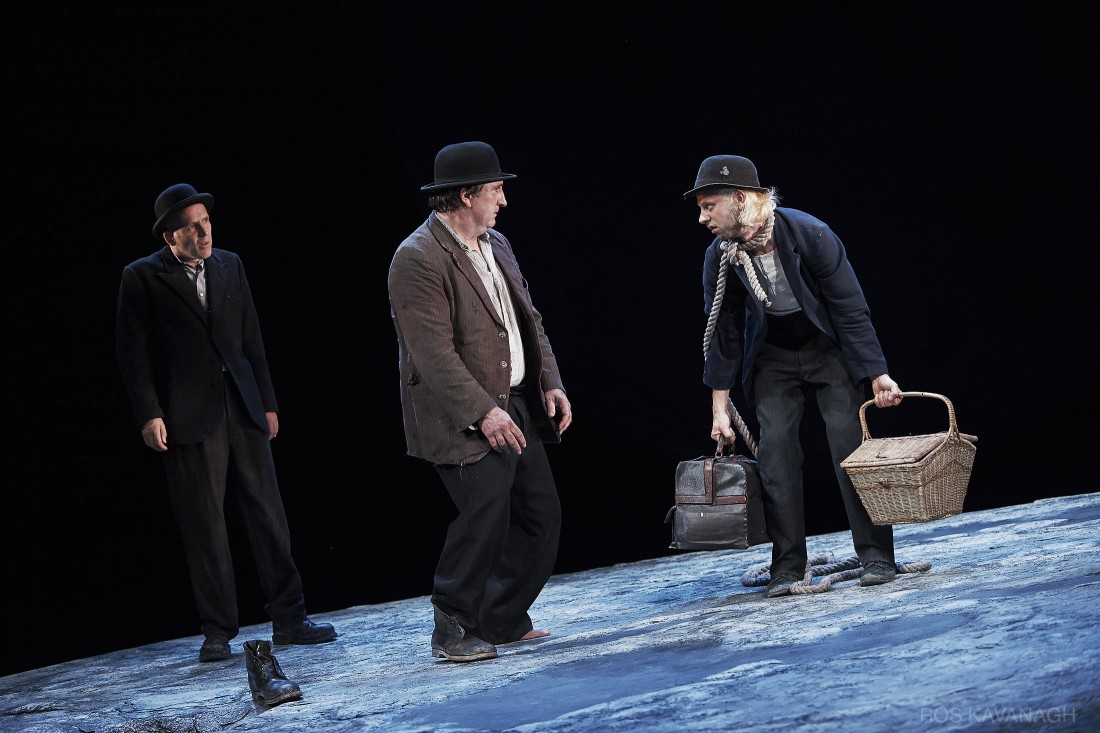 Perfomance image, Vladimir, Estragon and Lucky