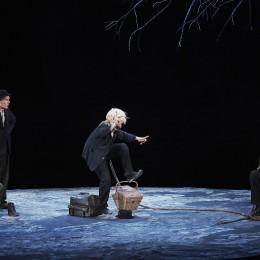 Perfomance image, Estragon, Vladimir, Lucky and Pozzo