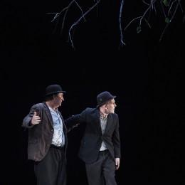 Perfomance image, Estragon and Vladimir