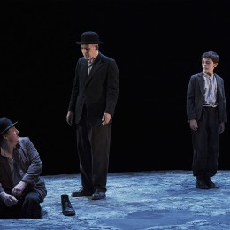 Perfomance image, Estragon, Vladimir and Boy