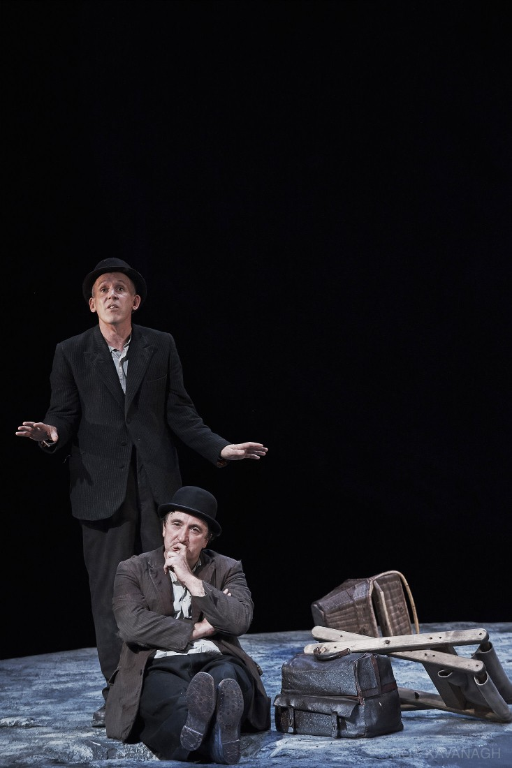 Perfomance image, Vladimir and Estragon
