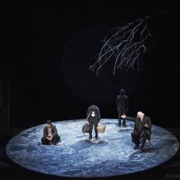 Perfomance image, Estragon, Lucky, Vladimir and Pozzo