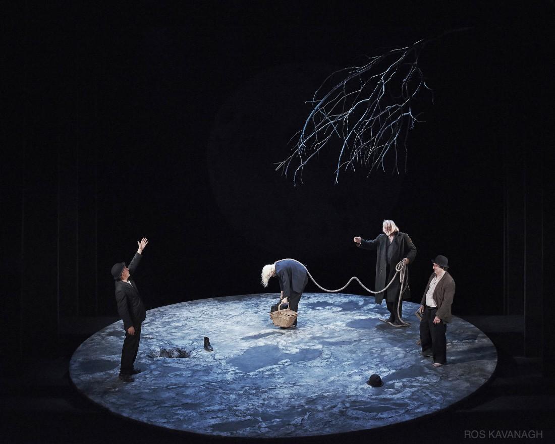 Perfomance image, Vladimir, Lucky, Pzzo and Estragon