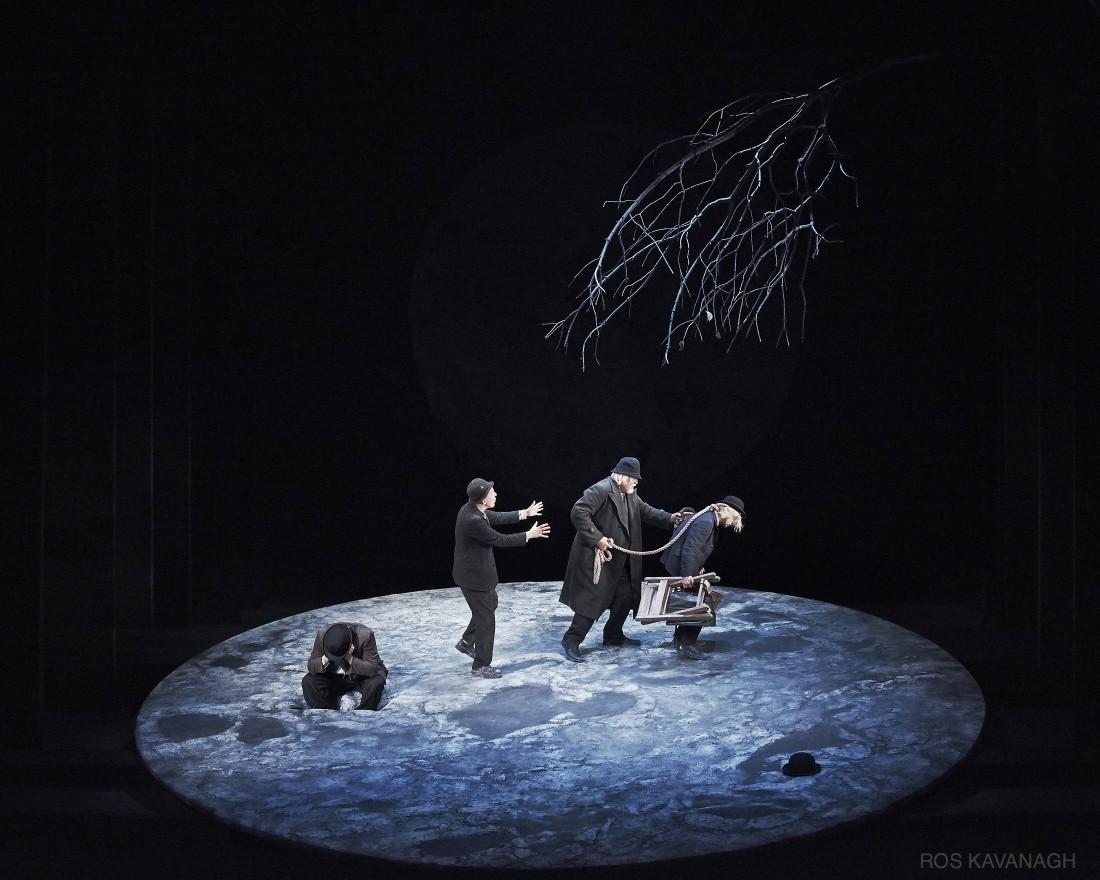 Perfomance image, Estragon, Vladimir, Pozzo and Lucky