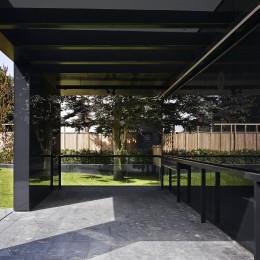View inside Pavillino