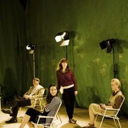 Showing Simon Coury, Charlie Murphy, Caitríona Ní Mhurchú and Noelle Brown