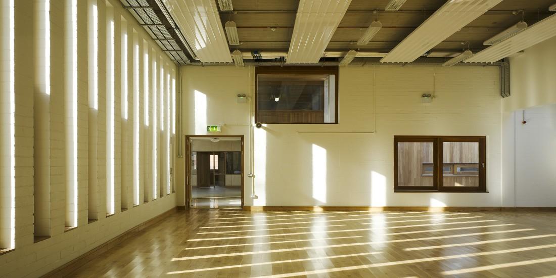 View of multi-purpose hall