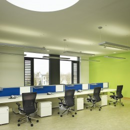 View of office area