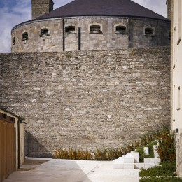 Exterior view of courtyard showing Kilmaiham Gaol