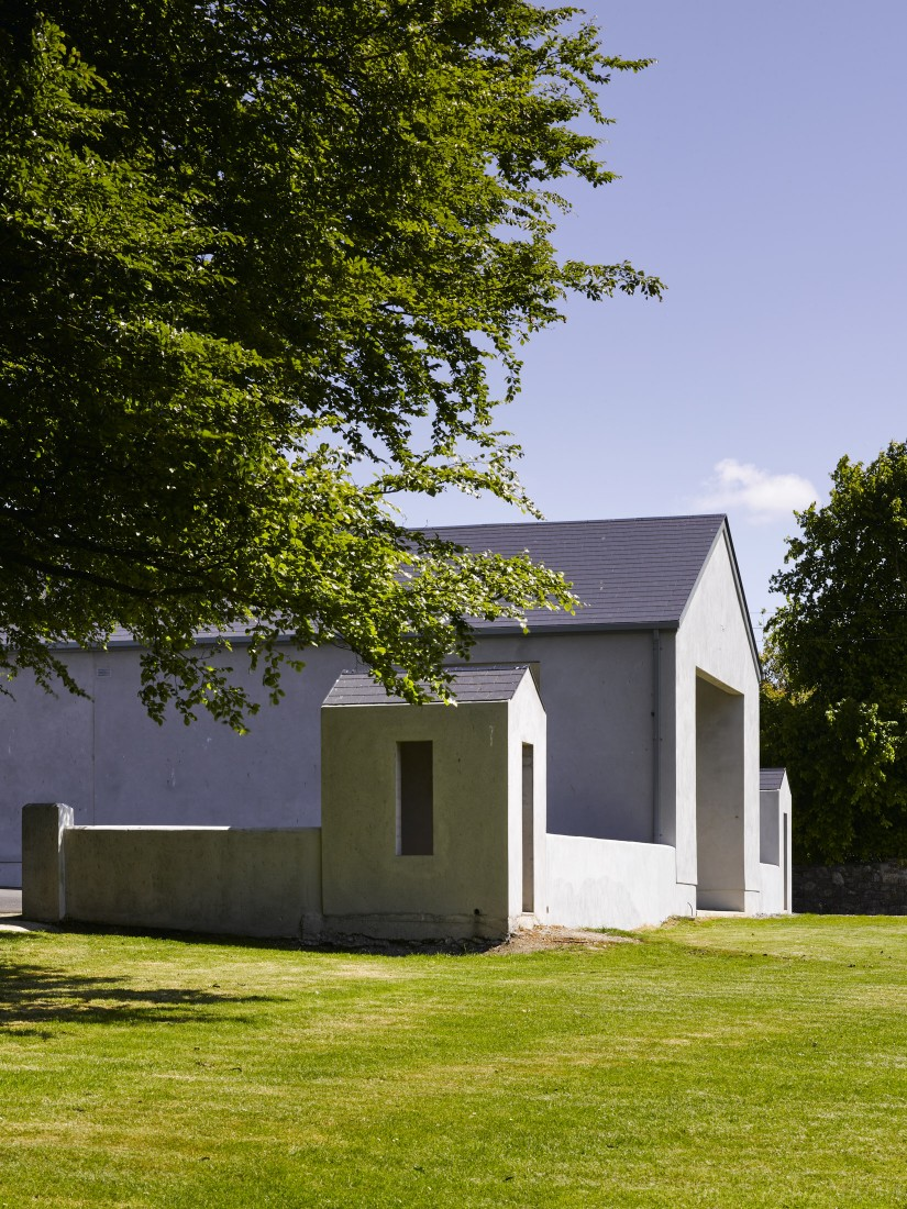 Kilreekil School view of shelter showing landscape
