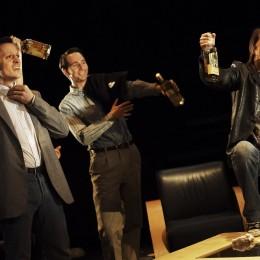 Showing Raymond Scannell, Paul Mallon and John Cronin