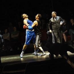 Boxing match, Alaska Wolf Joe vs Tirinty Moses