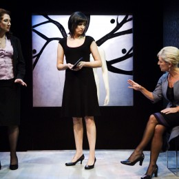 Showing Ali White, Hilary O'Shaughnessy and Ruth Hegarty