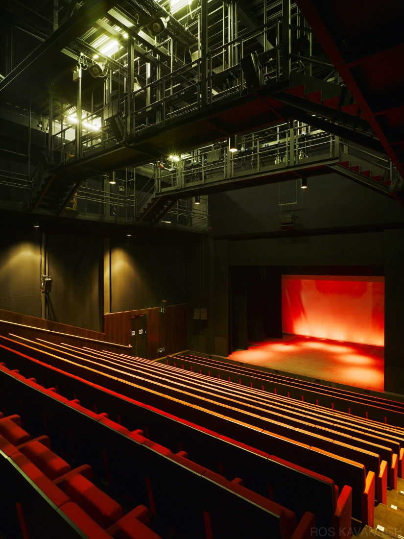 View of theatre space