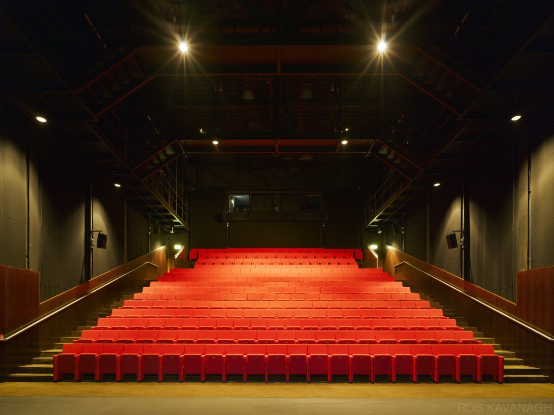 View of theatre area from stage