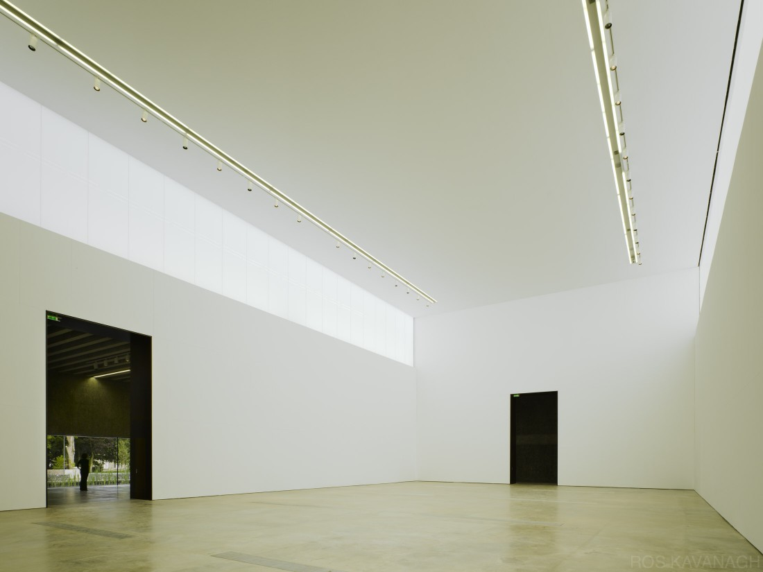 View of main gallery space