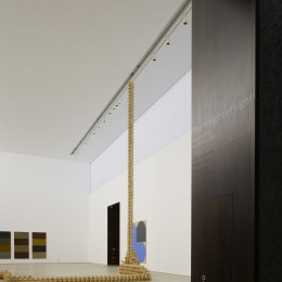 '4 Towers' by Sean Scully, 'More than anything' by Maud Cotter and 'Shuffle' by Richard Gorman